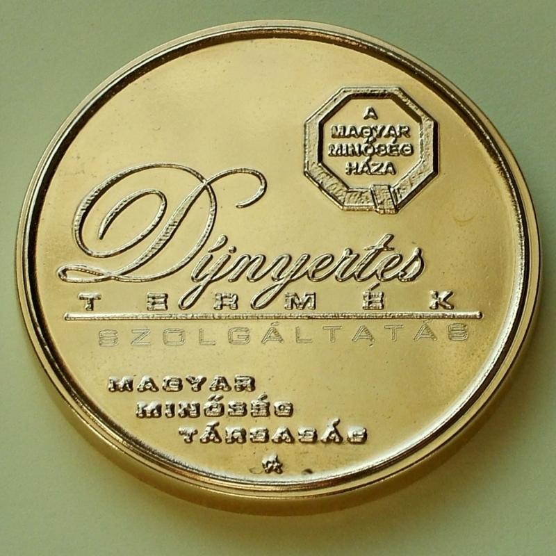 Magyar Minőség Háza 2009. Díj