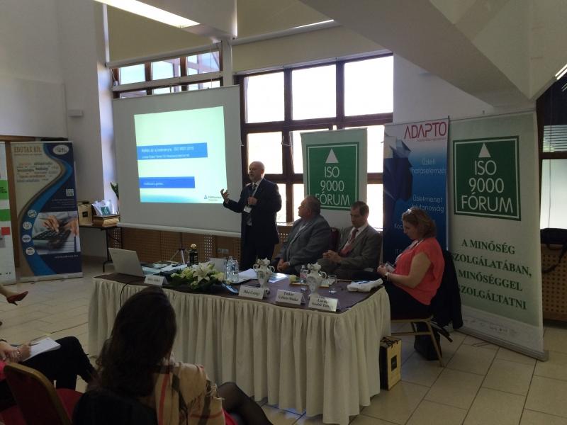 Hasznos szakmai és térítésmentes rendezvény az ISO 9000 FÓRUM Egyesület szervezésében!