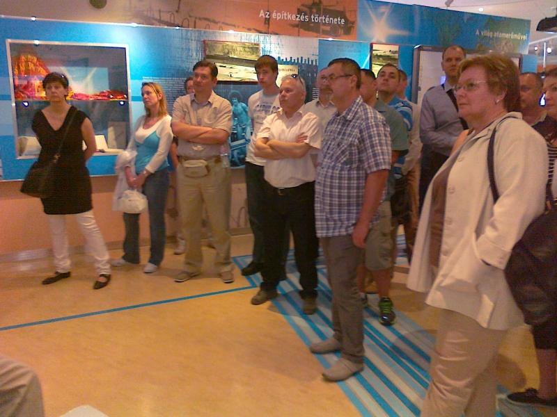 ISO 9000 FÓRUM szakmai látogatás a Paksi Atomerőműben - 2013. május 9-én egy nem mindennapos kánikulában látogattuk meg a Paksi Atomerőművet.