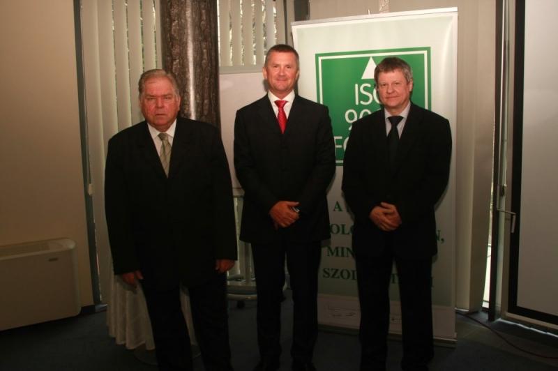 Tisztújító Taggyűlést tartott az ISO 9000 FÓRUM 2013. április 9-én