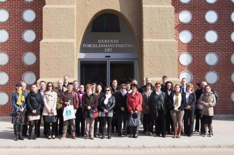 Szakmai Látogatás a Herendi Porcelánmanufaktúrában 2014. március 27-én