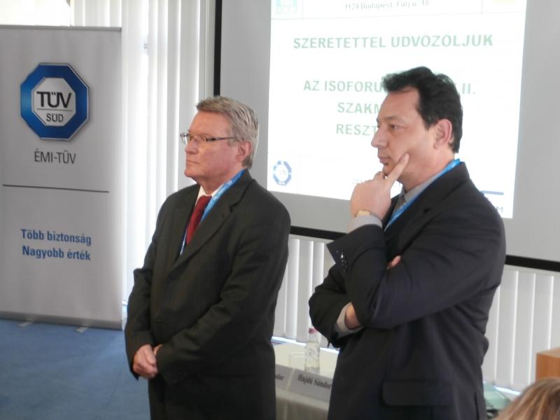 2014. március 13-án megtartottuk az ISOFÓRUM Tavasz II. szakmai konferenciát