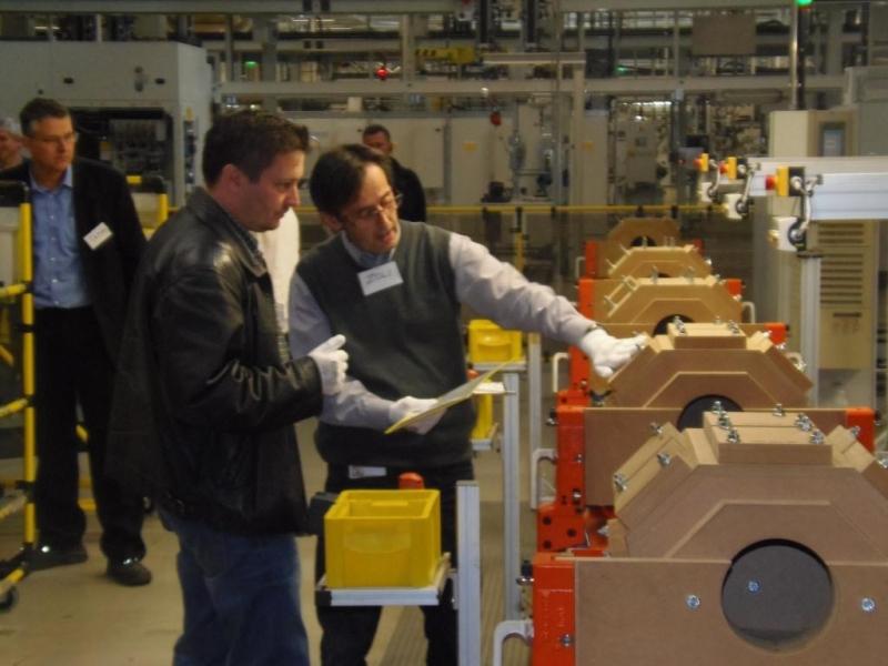ISOFÓRUM szakmai látogatás az Opel Szentgotthárd-i gyárában, 2013.május 30-án