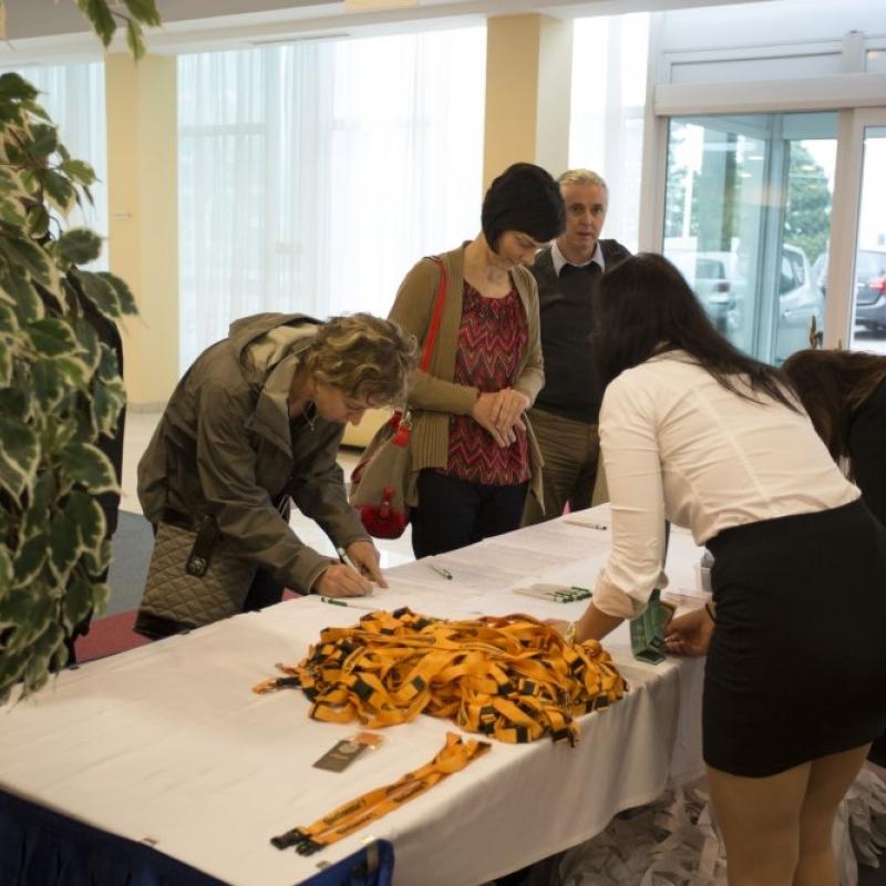 XXI. Nemzeti Minőségügyi Konferencia: A vendégek érkezése