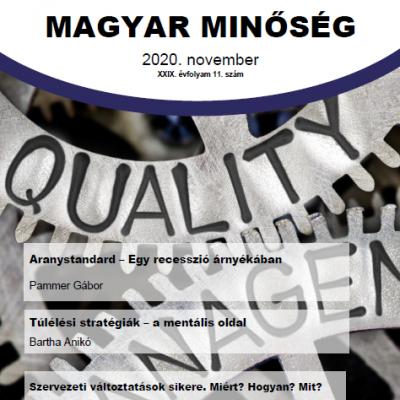 Megjelent a Magyar Minőség 2020. novemberi száma.