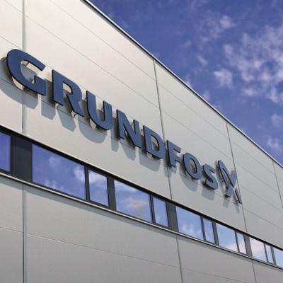 A VirTúra második állomása a székesfehérvári Grundfos gyártóüzem volt