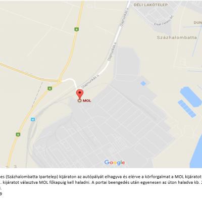 Szakmai látogatás: Az energiairányítási rendszer működtetése a MOL Nyrt-nél