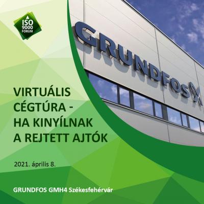 VirTúra - Ha kinyílnak a rejtett ajtók: Grundfos GMH4 Székesfehérvár.