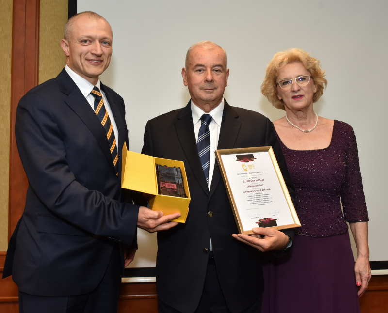 A Pannon Guard Zrt. munkásságát Üzleti Etikai Díjjal jutalmazták